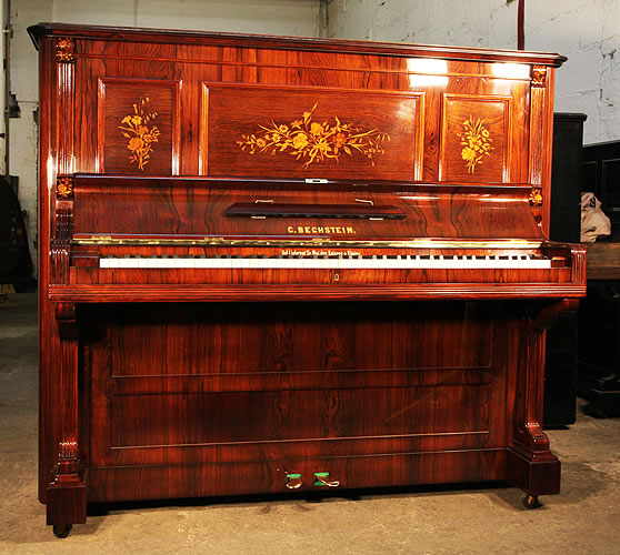 Ref 1836 Antique Bechstein Upright Piano For Sale With